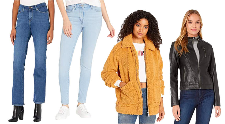 Levi's jeans and jackets have us drooling. (Photo: Zappos)