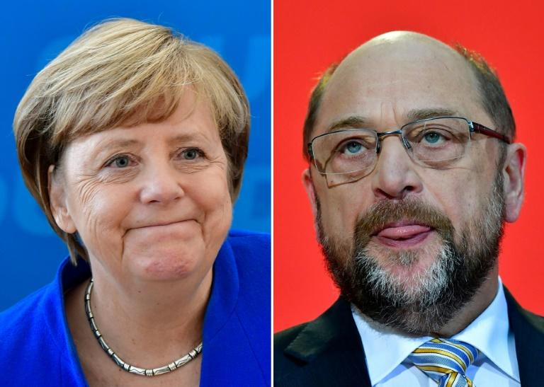 Germany's SPD denies agreeing coalition talks with Angela Merkel