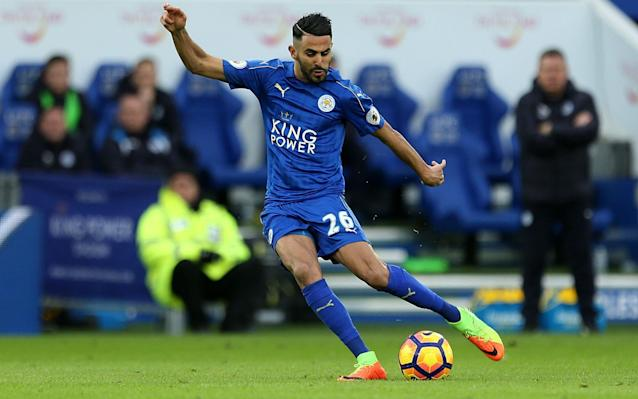 <span>Riyad Mahrez has rediscovered his best form since Craig Shakespeare took over at Leicester</span> <span>Credit: PA </span>