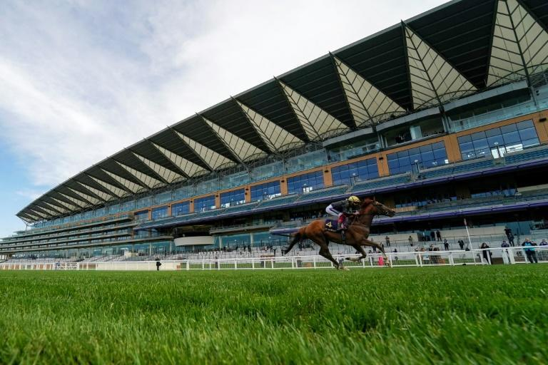 Stradivarius won a third successive Ascot Gold Cup in front of empty stands
