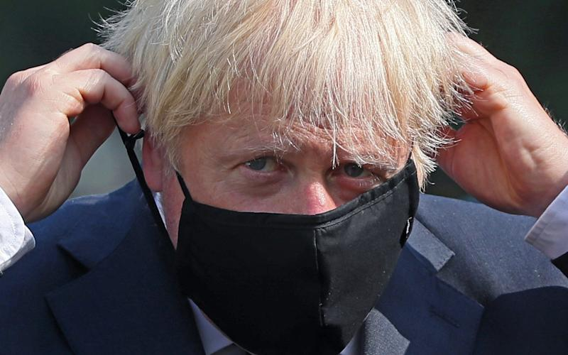 Prime Minister Boris Johnson and all ministers will wear face coverings in ministerial cars - Getty Images Europe/WPA Pool