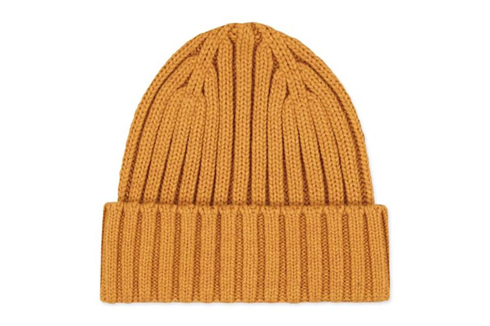 """Hide bad haircuts, keep your ears warm, and look damn cool in the process with a rib knit beanie in a solid neutral color. Uniqlo's always got a few pitch-perfect options in stock.<br> <br> <em>Uniqlo Heatteach knitted cap</em> $15, Uniqlo. <a href=""""https://www.uniqlo.com/us/en/heattech-knitted-cap-428918.html?dwvar_428918_color=COL45#start=1&cgid=men-accessories-and-shoes"""" rel=""""nofollow noopener"""" target=""""_blank"""" data-ylk=""""slk:Get it now!"""" class=""""link rapid-noclick-resp"""">Get it now!</a>"""