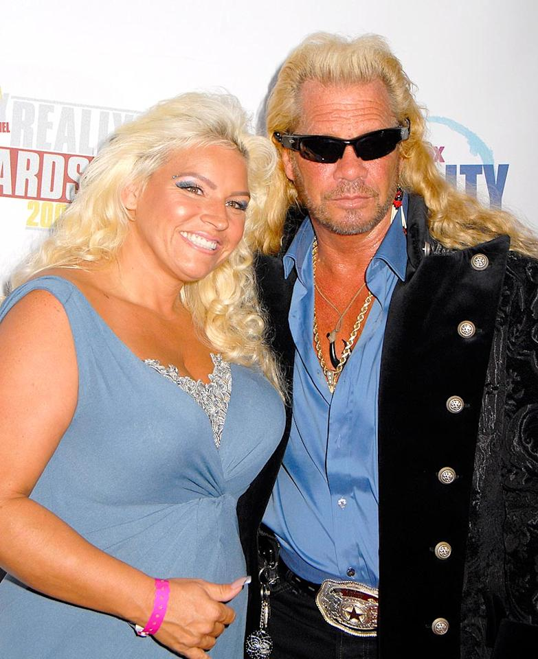 """Duane Chapman (aka """"Dog the Bounty Hunter"""") and his wife Beth marked their territory on the red carpet at FOX Reality Channel's 2008 Really Awards at The Avalon in Hollywood, California. Barry King/<a href=""""http://www.wireimage.com"""" target=""""new"""">WireImage.com</a> - September 24, 2008"""