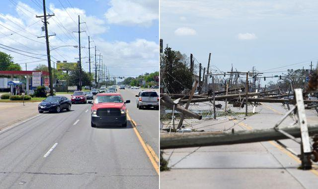 Hurricane Laura: Before and after images show devastation from one of strongest storms to hit US