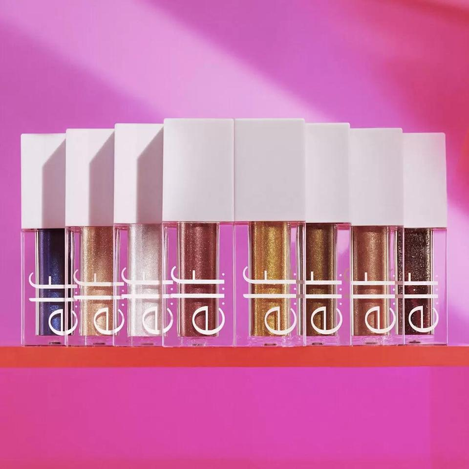 <p>Have some fun with this playful <span>e.l.f. All That Glitters Liquid Glitter Eyeshadow Vault</span> ($35).</p>