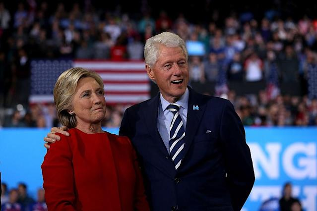 <p>No. 9: Yale University<br>Known UHNW alumni: 360<br>Combined wealth: $156 billion<br>Alumni and former Secretary of State Hillary Clinton and former president Bill Clinton are seen here.<br></p>