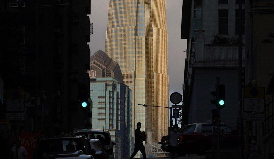 Grade A office buildings like the IFC in Central are popular with banking and finance firms. Photo: AP Photo
