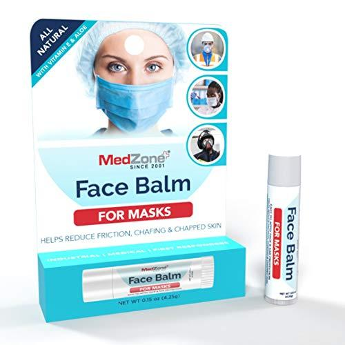MedZone Face Balm | For Masks (3 Pack) | Wear with face masks to prevent chafing, chapped skin, and maskne (Amazon / Amazon)
