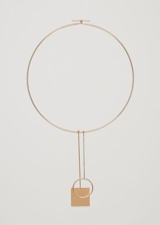 COS Wire Choker with Pendants, $35; at COS