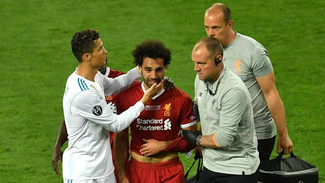 The Egypt star suffered a shoulder injury in Liverpool's Champions League final loss, but he expects to be fit to make the cut for Russia