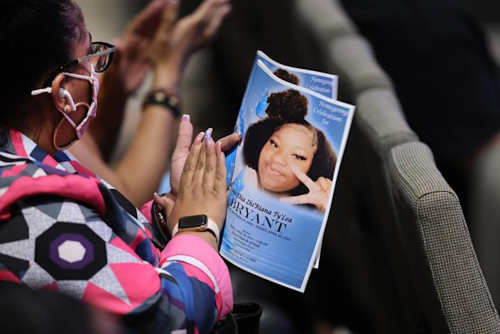 Wake And Funeral Held For Ma'Khia Bryant In Columbus, OH (Scott Olson / Getty Images file)
