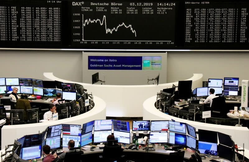 European shares jump 1% as report revives U.S.-China trade optimism