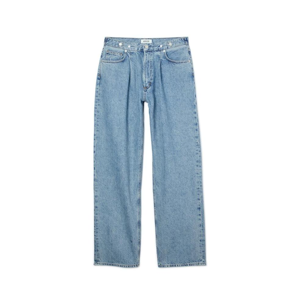 "$168, Verishop. <a href=""https://www.verishop.com/agolde/denim/baggy-tab-mid-rise-jeans/p4309186969623?color=sweetner"">Get it now!</a>"