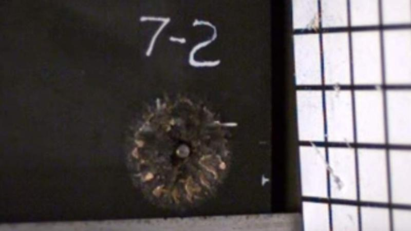 Watch this metal foam turn an armor-piercing bullet into dust