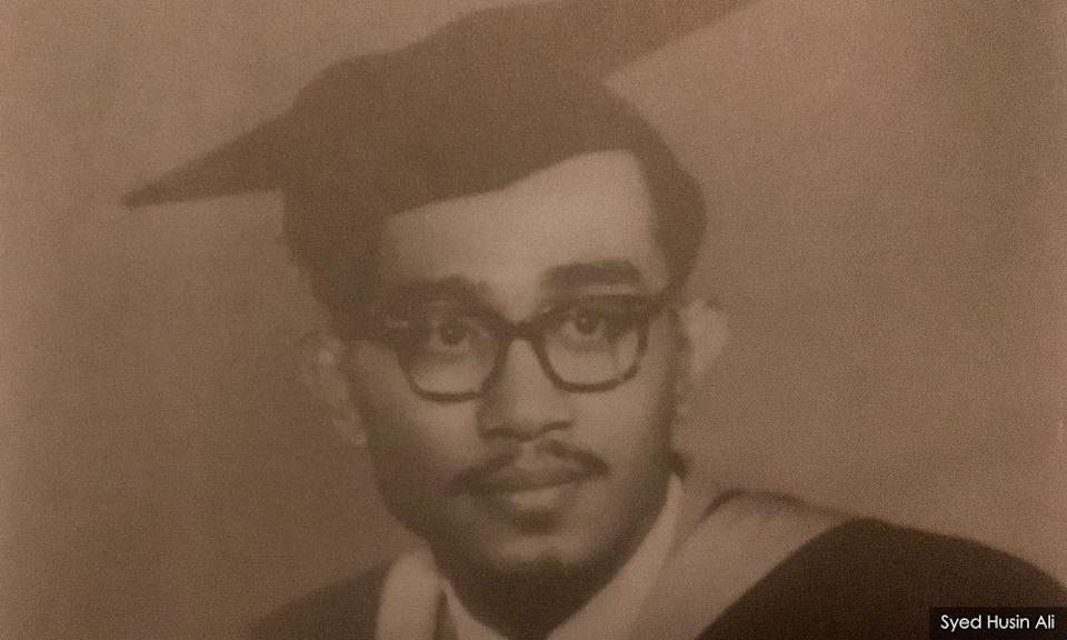 A young Syed Husin Ali