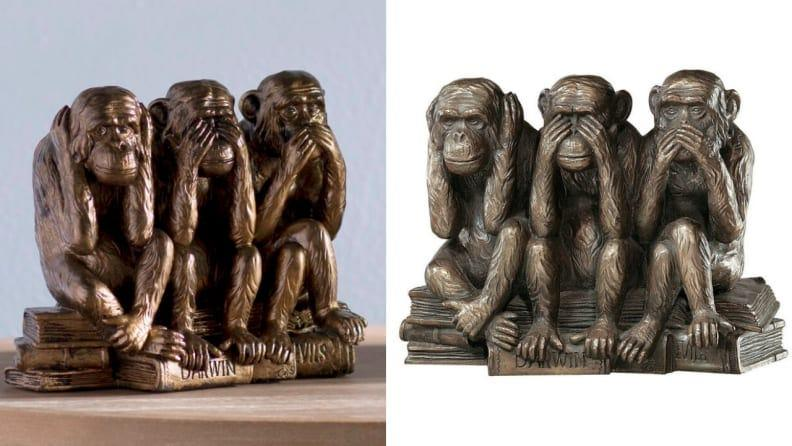 """This cute statue of the """"Wise Monkeys"""" makes a thoughtful gift."""