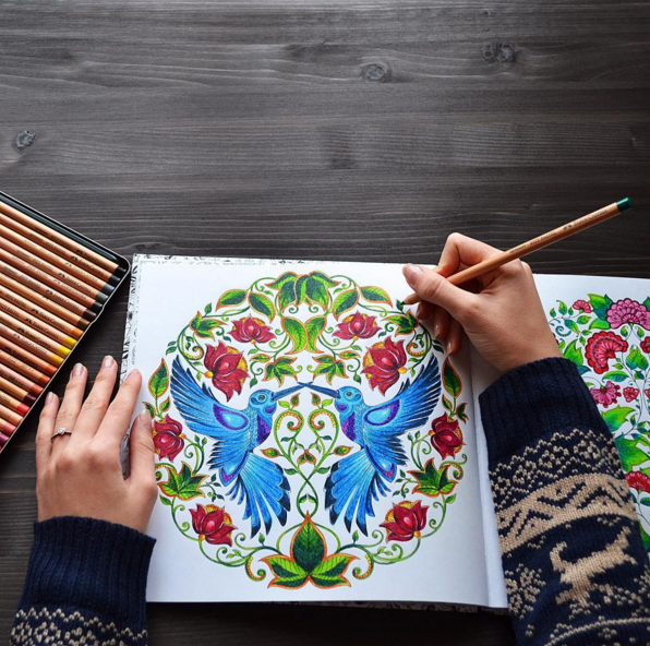 "<p>Adult colouring books are all the rage right now – and for a good reason. They help settle the mind and ease stress. While sitting around drawing may feel like a waste of time, it may also be just the thing you need to help you get focused, so you can work through your goals rather than obsess over them. <i>(Instagram/<a href=""https://www.instagram.com/mariia_art/"" rel=""nofollow noopener"" target=""_blank"" data-ylk=""slk:mariia_art"" class=""link rapid-noclick-resp"">mariia_art</a>)</i></p>"
