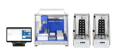 The nRichDX Revolution semi-automated workflow powered by Eppendorf's epMotion instrument enables extraction from batches of 8 to 24 samples in as little as 3 hours with 20 minutes of hands-on time.