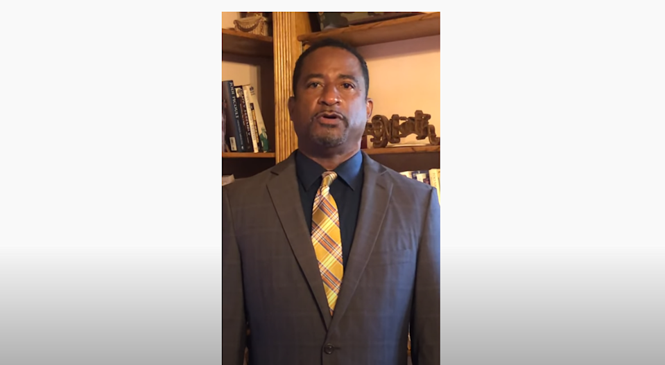 Former Spanish River High School Principal William Latson apologized for his 2018 comments about the Holocaust in a video posted Tuesday on YouTube.