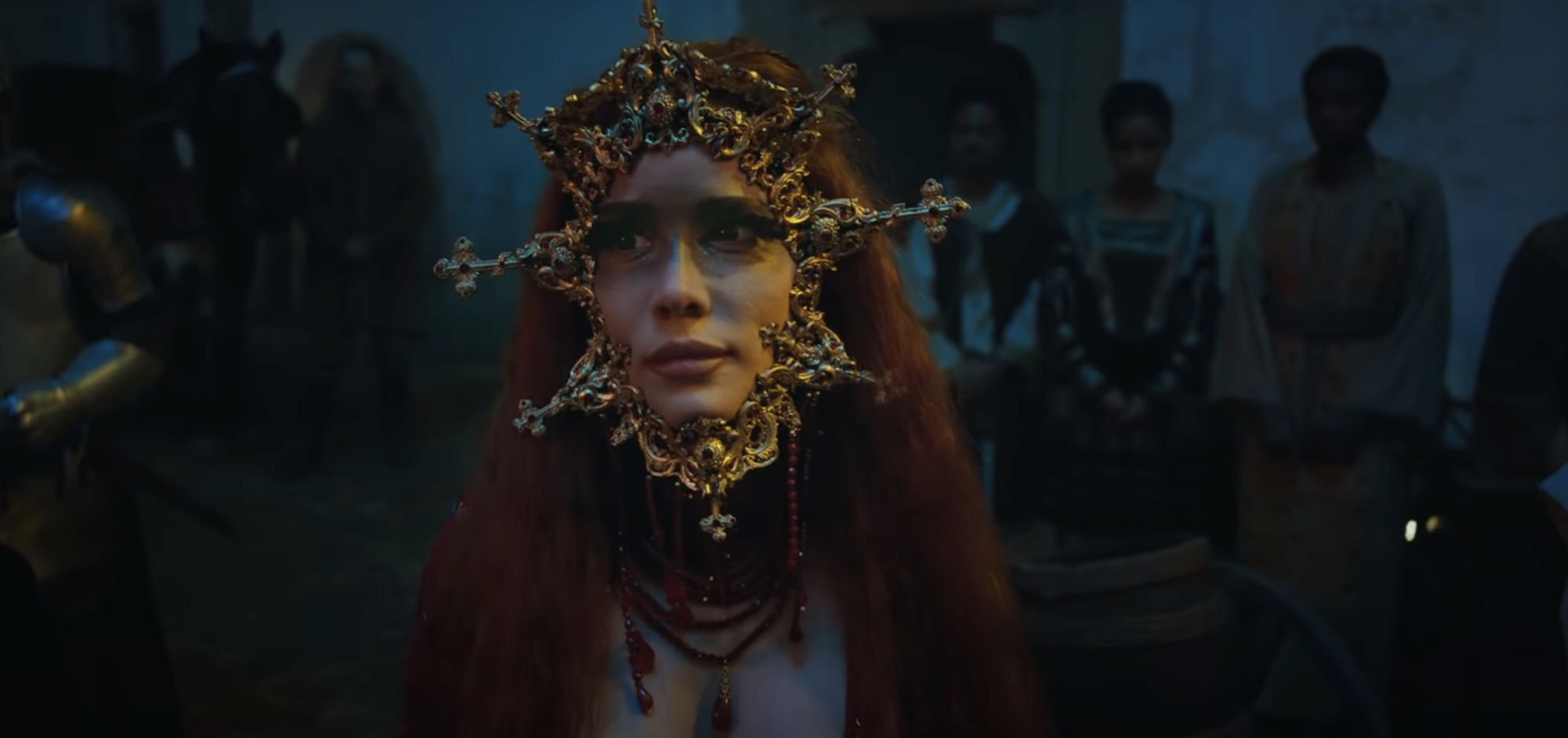 Halsey goes from beautiful to bloody in second trailer for 'If I Can't Have Love, I Want Power' film