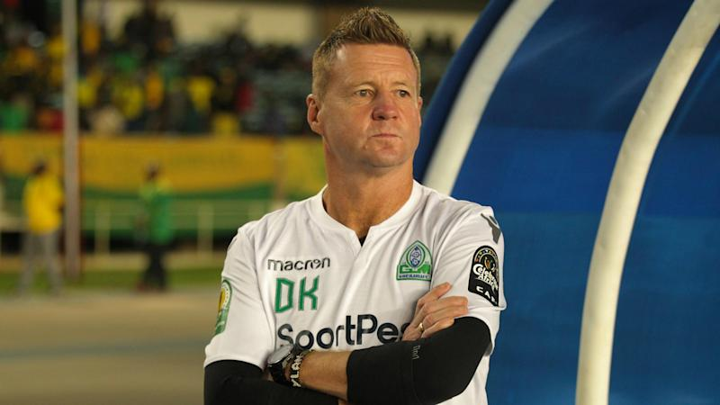Former Gor Mahia coach Dylan Kerr allegedly bathed in a swimming pool