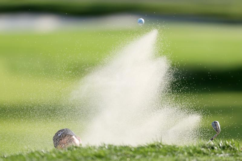 He's down here, but Patrick Reed was up at the end of the day Friday. (Photo by Gregory Shamus/Getty Images)