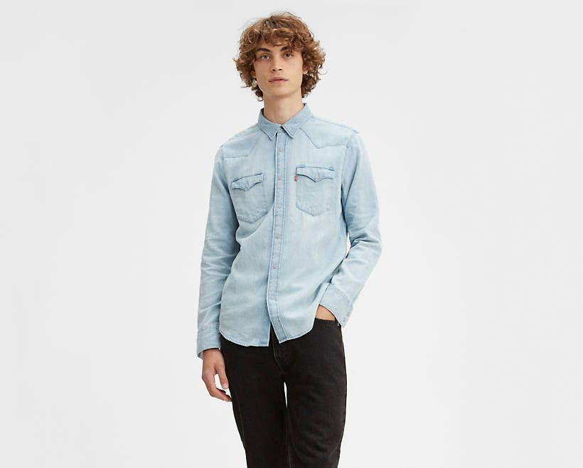 """<p><strong>Levi's</strong></p><p>levi.com</p><p><strong>$24.99</strong></p><p><a href=""""https://go.redirectingat.com?id=74968X1596630&url=https%3A%2F%2Fwww.levi.com%2FUS%2Fen_US%2Fapparel%2Fclothing%2Ftops%2Fbarstow-western-shirt%2Fp%2F857440003&sref=https%3A%2F%2Fwww.esquire.com%2Fstyle%2Fmens-fashion%2Fg32945302%2Flevis-summer-sale%2F"""" rel=""""nofollow noopener"""" target=""""_blank"""" data-ylk=""""slk:Buy"""" class=""""link rapid-noclick-resp"""">Buy</a></p><p>I'm really hoping they are, because this classic denim number is too good to pass up. </p>"""