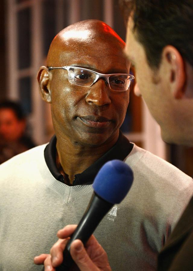 NEW ORLEANS, LA - JANUARY 30: Former NFL player Eric Dickerson attends the 6th Annual Moves Magazine Super Bowl Party at Metropolitan Nightclub on January 30, 2013 in New Orleans, Louisiana. (Photo by Andrew H. Walker/Getty Images)
