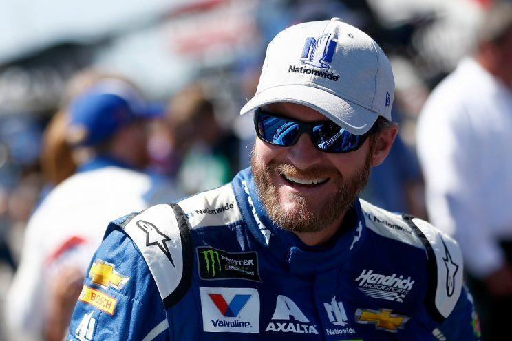 Earnhardt, Jr. unveils Homestead paint scheme