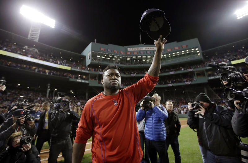New information from Dominican Republic authorities indicate David Ortiz was not the intended target of a gunman in his hometown. (AP Photo/Charles Krupa)