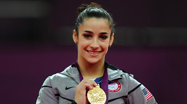 """Aly Raisman says she believes she was a """"textbook victim"""" of sexual abuse."""