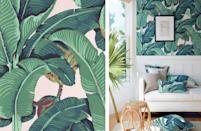 "<p>We all know and love a tropical banana leaf print, but <a href=""https://cwstockwell.com/"" rel=""nofollow noopener"" target=""_blank"" data-ylk=""slk:CW Stockwell'"" class=""link rapid-noclick-resp"">CW Stockwell'</a>s hand-printed Martinique pattern from 1942 was one of the originals. Second-generation CW Stockwell owners Remy and Lucile Chatain created this design in collaboration with botanical illustrator Albert Stockdale after a vacation to the South Seas. Fashion and interior designer Don Loper fell in love with the pattern and used it in the Beverly Hills Hotel, creating an iconic Southern California look.<br></p>"