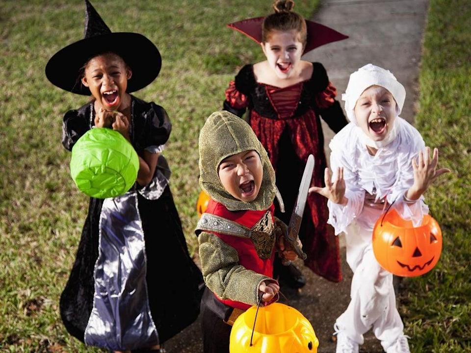 Representative image of children wearing Halloween costumes  (Getty Images)