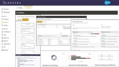 Opsera introduced its native Salesforce CI/CD release automation functionality to give Business Application teams the same powerful DevOps platform that software delivery teams use to significantly shorten software delivery cycles, enhance pipeline quality and security, lower operations costs and align software delivery to business outcomes.