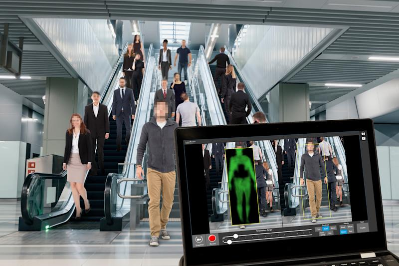 Thruvision people screener deployed at transportation hubs including Los Angeles World Airports and LA Metro