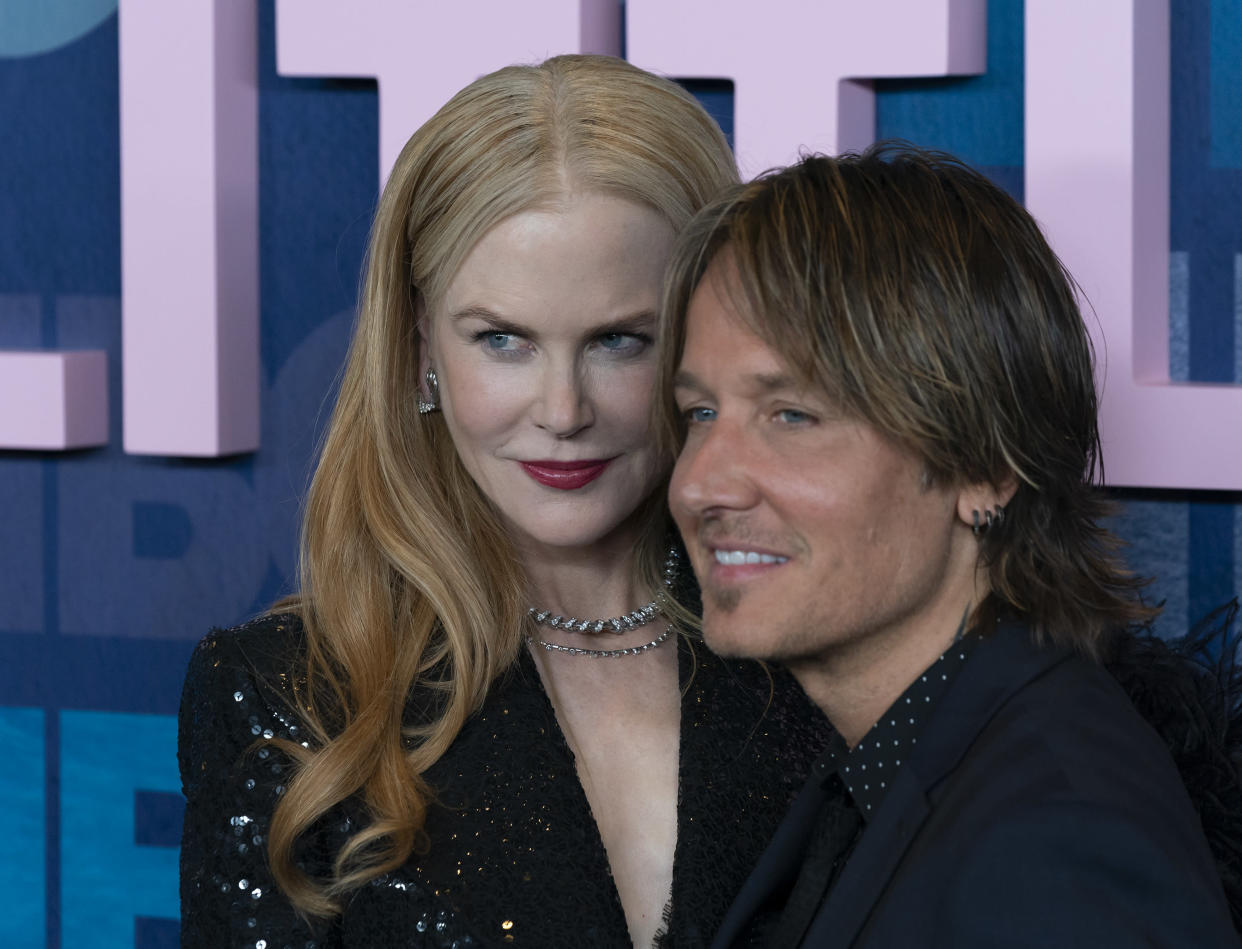 Nicole Kidman and Keith Urban attend HBO Big Little Lies Season 2 Premiere at Jazz at Lincoln Center (Photo by Lev Radin/Pacific Press/Sipa USA)