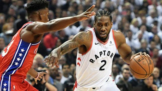 Kawhi Leonard is enjoying a fantastic playoff run as the quiet superstar of the Toronto Raptors, and one New England Patriots player is taking notice.