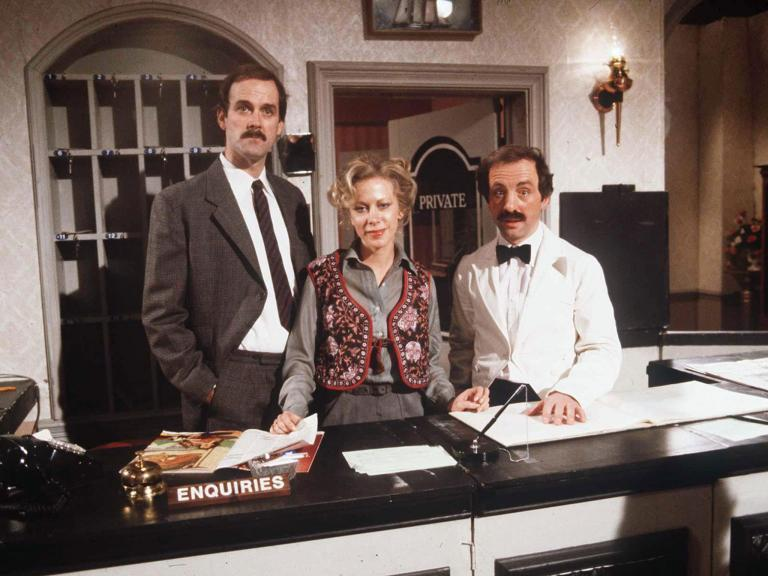 'Fawlty Towers' named the best British sitcom of all time