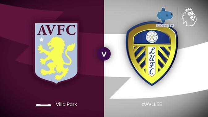 VIDEO Highlights Mola TV: Aston Villa 0 vs 3 Leeds United | Liga Inggris | (24/10/2020)
