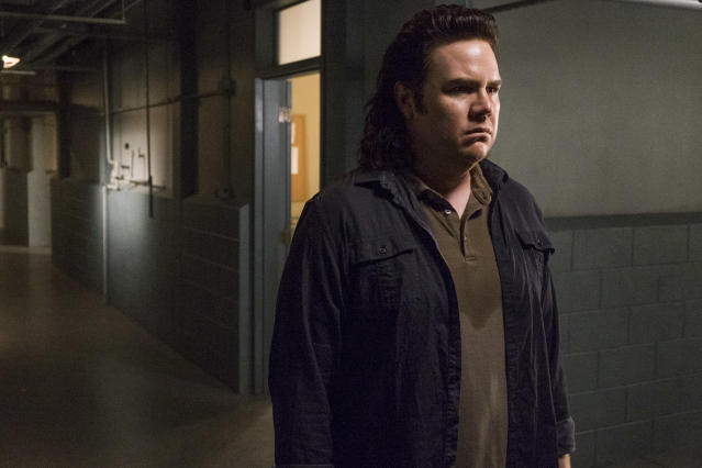 <p>Josh McDermitt as Dr. Eugene Porter in AMC's <i>The Walking Dead</i>.<br>(Photo: Gene Page/AMC) </p>