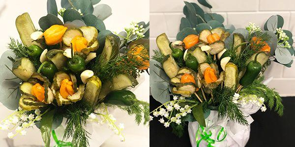 Someone Seriously Just Made A 'Pickle Bouquet' For