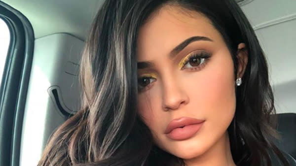 Read her lips: Kylie Jenner explained why she looks different in pics she recently posted on Instagram. (Photo: Instagram/KylieJenner)