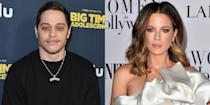 """<p>While these days, <a href=""""https://www.seventeen.com/celebrity/celebrity-couples/a36230811/pete-davidson-phoebe-dynevor-pictured-together-pda/"""" rel=""""nofollow noopener"""" target=""""_blank"""" data-ylk=""""slk:Pete is in a seemingly very legit relationship with Bridgerton star Phoebe Dynevor,"""" class=""""link rapid-noclick-resp"""">Pete is in a seemingly very legit relationship with <em>Bridgerton </em>star Phoebe Dynevor,</a> not long after his split from Ariana Grande, fans were confused to find him connected to Kate Beckinsale. The 20-year age gap and the quick rebound from Ariana gave fans pause, but <a href=""""https://www.eonline.com/news/1011408/here-s-what-s-really-going-on-between-pete-davidson-and-kate-beckinsale"""" rel=""""nofollow noopener"""" target=""""_blank"""" data-ylk=""""slk:it seems like they were the real deal,"""" class=""""link rapid-noclick-resp"""">it seems like they were the real deal,</a> at least for a few months. </p>"""