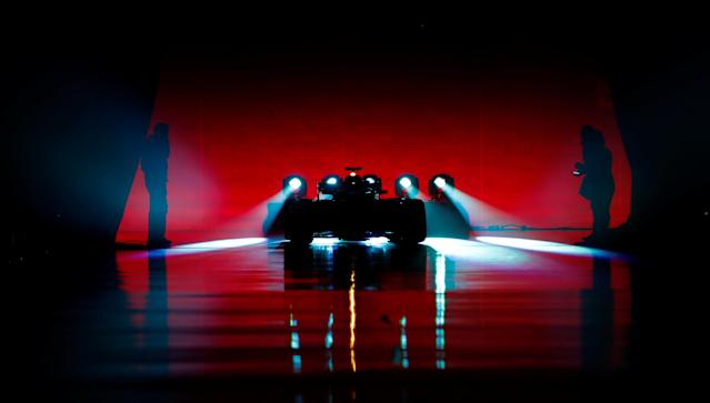 F1 Formula One - Mercedes 2018 Car Launch - Silverstone Circuit, Towcester, Britain - February 22, 2018 General view of the new Mercedes F1 car during the launch Action Images via Reuters/Matthew Childs