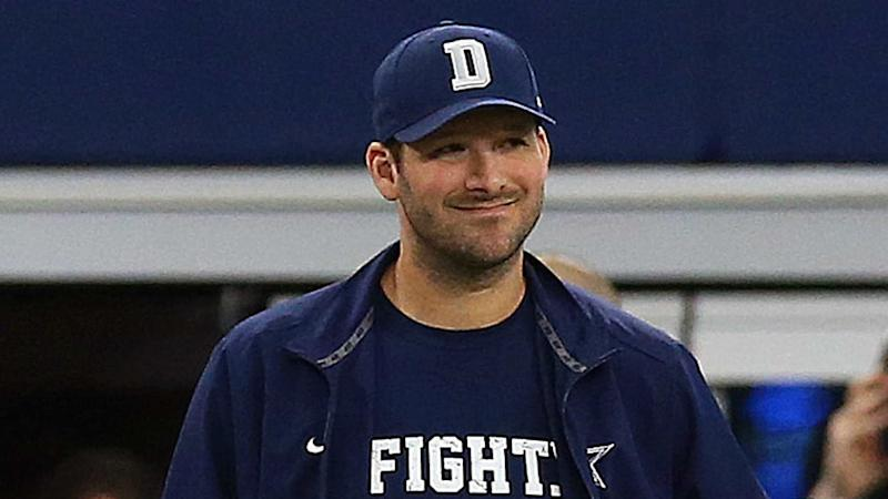 Tony Romo ahead of Mavericks game: 'I'm a lucky guy'