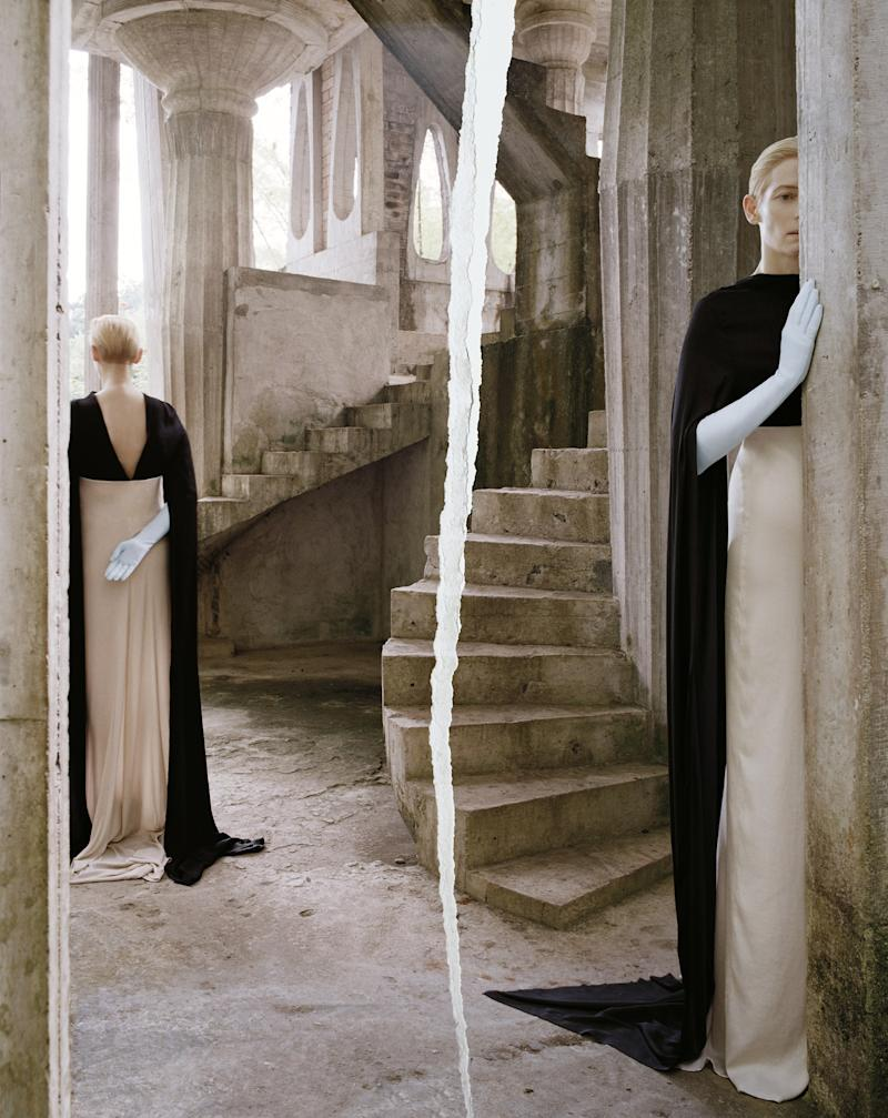 Tilda Swinton photographed by Tim Walker for W Magazine, May 2013.