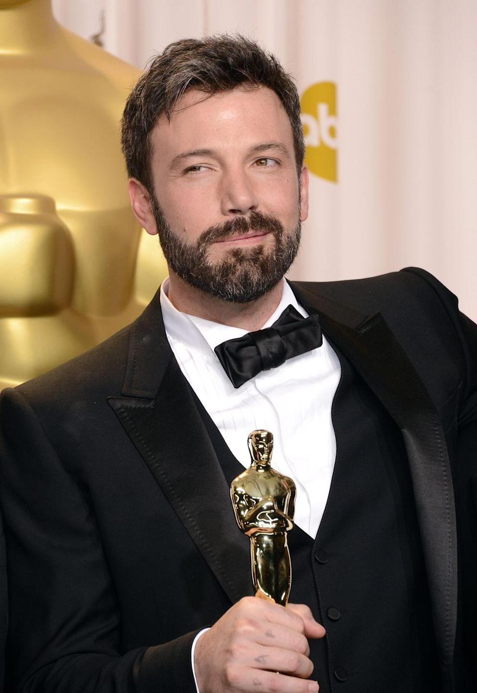 <p>Ben Affleck transitioned to the director's chair in 2010, making his directorial debut with <em>The Town</em>. Four years later, he took home an award for Best Director at the Golden Globes for <em>Argo </em>— a film he both starred in and directed.</p>