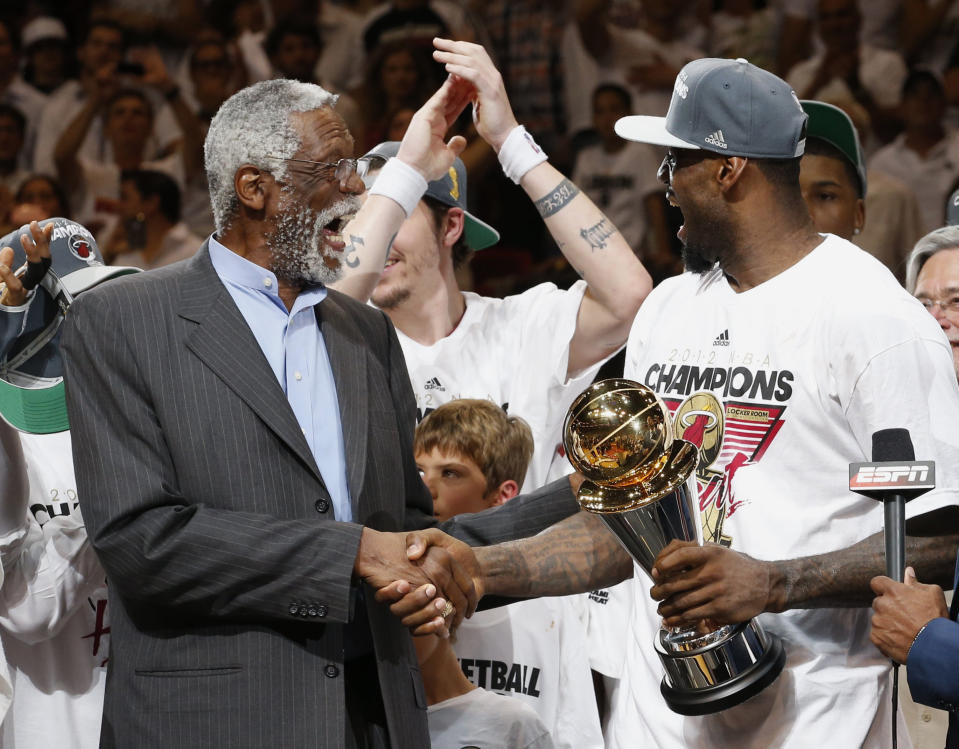 From Bill Russell to LeBron James, the NBA's GOAT debate is just different. (Mike Segar/Reuters)