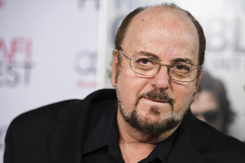 """FILE - In this Nov. 10, 2014, file photo, James Toback arrives at the 2014 AFI Fest """"The Gambler"""" in Los Angeles. Toback has been accused by hundreds of women of sexual harassment. Beverly Hills police are investigating the complaints. He has denied the allegations to the Los Angeles Times. (Photo by Richard Shotwell/Invision/AP, File)"""