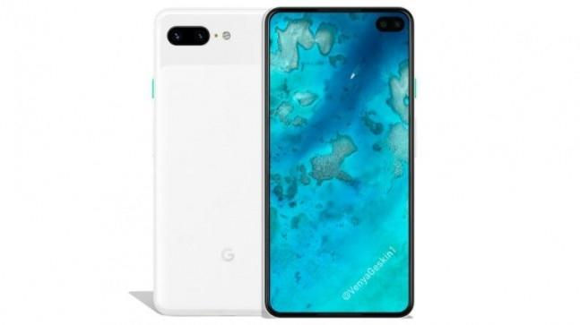 New renders of the alleged Google Pixel 4 have surfaced on the web. The 2019 Google flagship is expected to ditch the huge notch and chin. A dual rear camera and a narrow-bezel display are expected to be two major new features.